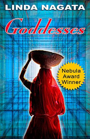 "Ebook Cover For The Novella ""Goddesses"""