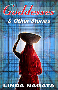 Book cover for Goddesses & Other Stories by Linda Nagata