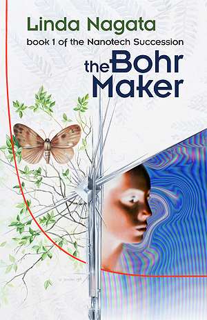 The Bohr Maker-cover art by Bruce Jensen