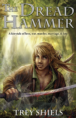 Original cover for THE DREAD HAMMER